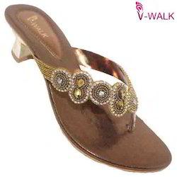 Ladies Heel Bridal Wear Sandals 0069