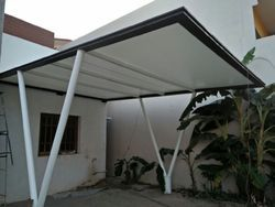 Entrance Fabric Tensile Structure