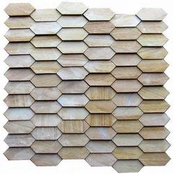 Teak Mosaic Tile