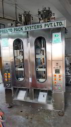 Automatic Milk Packing Machine Double Head