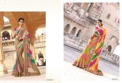 Fancy Designer Laheriya Sarees