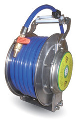 Stainless Hose Reel For Hot & Cold Water