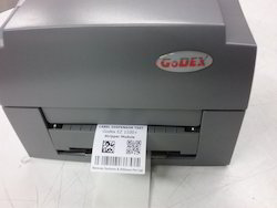 Barcode Printer with Label Dispenser