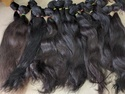 Temple Virgin Brown Color Human Hair