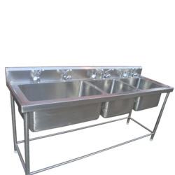 Three Sink Unit