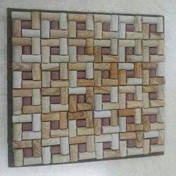 Teak Red Mosaic Tile
