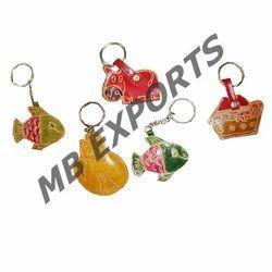 Shanti Niketan Small Key Ring