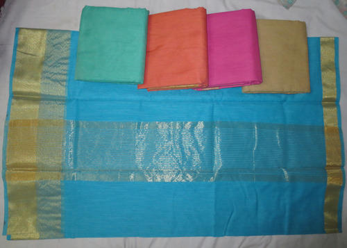 Multi Color Cotton Fancy Saree