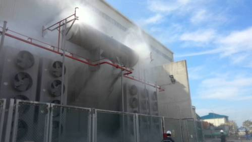 Fire Fighting Systems High Velocity Water Spray System