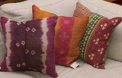 Old Quilt Pillow Covers