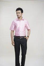Light Pink Silk Shirts