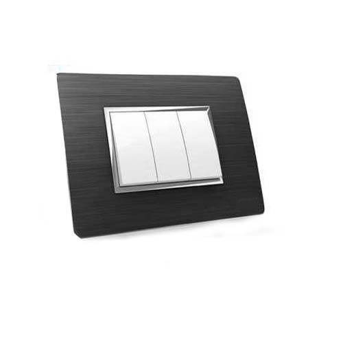 Switch Plate 3 Switch Modular Plate Wholesale Trader From Ahmedabad