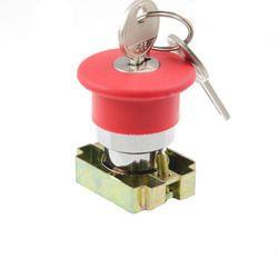 Key Mushroom Push Button (Metal Series)