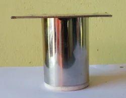 Stainless Steel Round Sofa Leg