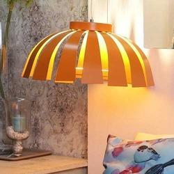 Orange Pod Pendant Lamp