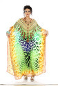 Digitally Printed Georgette Kaftan