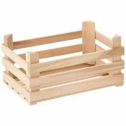 Wooden Open Crate