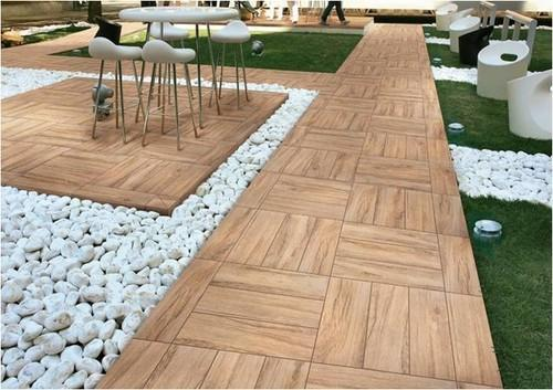 Outdoor Tiles - Deck Flooring - Deck Wood Manufacturer From Mumbai