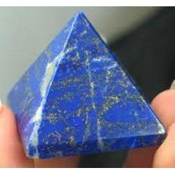Natural Lapis Lazuli (Lajvart) Pyramid