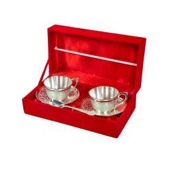 Brass Antique Design Glossy Cup Set