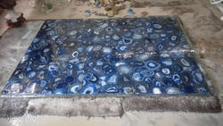 Semi Precious Stone - Brazilian Blue Agate