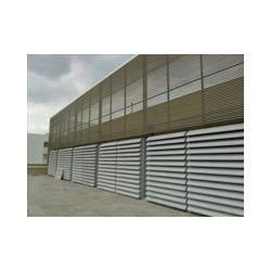 Acoustic Treated Louver