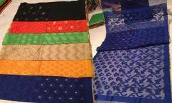 Designer Hanloom Net Weaving Dupatta