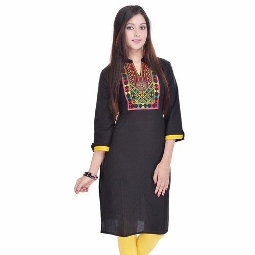 Black Coloured Kurti