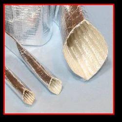 Aluminized Fiber Glass Heat Reflective Sleeve