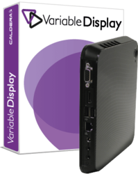 Variable Display Software