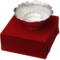Brass Glossy Silver Plated Bowl