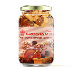 Natural Honey With Grostamin
