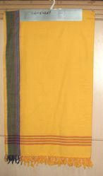 Cotton Plain Kikoi Shawls