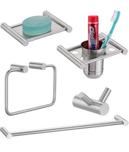 5 Pieces Bathroom Accessories Set