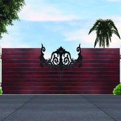 Wooden Main Gate
