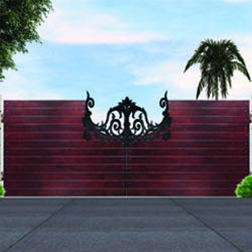 Decorative gates wicket gates telescopic gates and for Wooden main gate design
