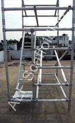 Aluminum Scaffolding Step Ladder