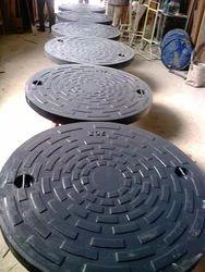 FRP 900 Dia  Manhole Cover 20 Ton Capacity
