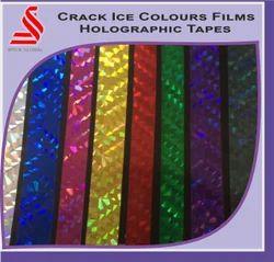 Multi Colored Diamond Colours Holographic Film Tape