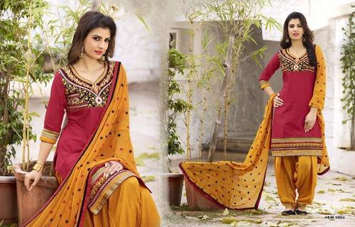 Party Wear Patiala Suits