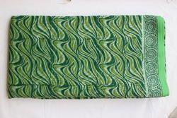 Hand Block Printed Chanderi Fabric