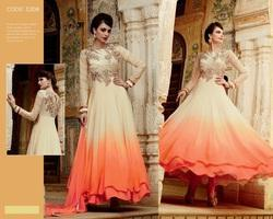 Flower Anarkali Suits