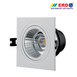 10W LED COB Square Spotlight