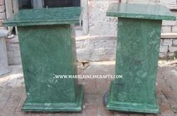 Green Marble Table Stand