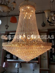 Crystal Bead Chandelier