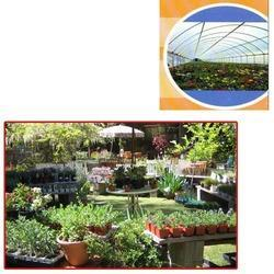 tunnel type shade net house for nursery plants