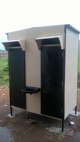 FRP Double Toilet