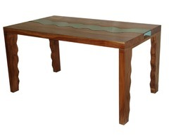 Wood Dining Table - Wooden Furniture