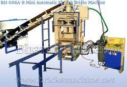 mini fully automatic fly ash bricks making machine