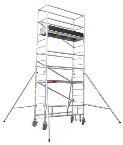 Aluminum Scaffold Tower : Aluminum mobile scaffolding manufacturer from chennai